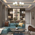 Mẫu thiết kế nội thất 2 Phòng Ngủ Topaz Twins Biên Hòa 82m2